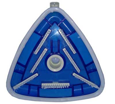 Aspiradora triangular de fondo