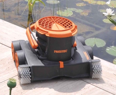 Swimming pond robot Tosstec
